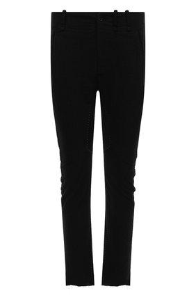 Мужские брюки MASNADA черного цвета, арт. M2602R   Фото 1