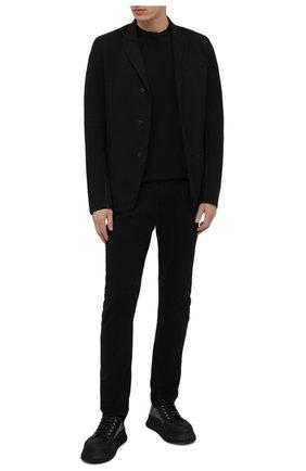 Мужские брюки MASNADA черного цвета, арт. M2602R   Фото 2