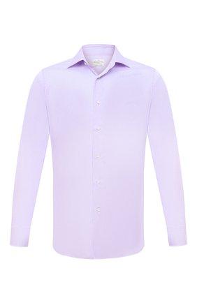 Мужская хлопковая сорочка BAGUTTA сиреневого цвета, арт. 450_EAL/07773 | Фото 1