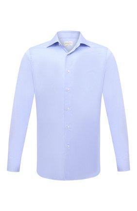 Мужская хлопковая сорочка BAGUTTA голубого цвета, арт. 450_EAL/07773 | Фото 1