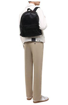Мужской кожаный рюкзак nuxx SAINT LAURENT черного цвета, арт. 623698/03UPZ | Фото 2