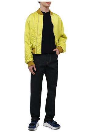 Мужской шерстяной джемпер OAMC темно-синего цвета, арт. 0AMS752567 0SY20001 | Фото 2