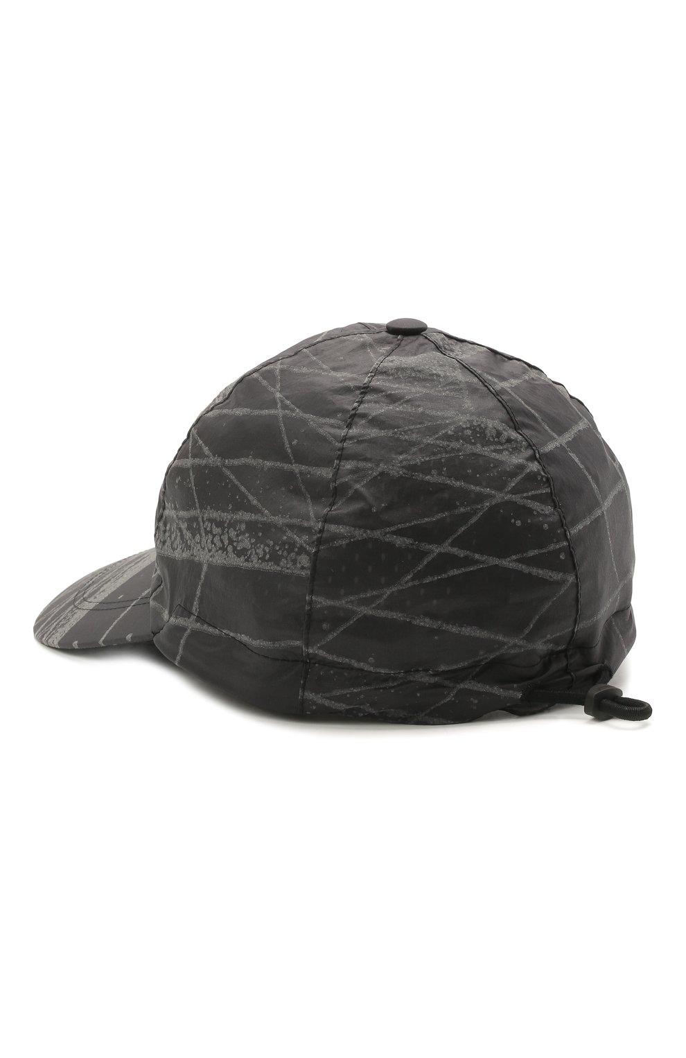Мужской бейсболка STONE ISLAND темно-серого цвета, арт. 741599598   Фото 2
