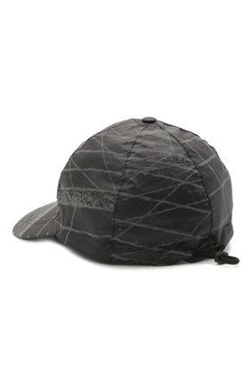 Мужской бейсболка STONE ISLAND темно-серого цвета, арт. 741599598 | Фото 2
