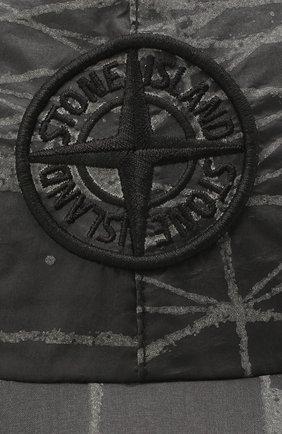 Мужской бейсболка STONE ISLAND темно-серого цвета, арт. 741599598 | Фото 3