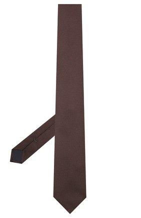 Мужской шелковый галстук VAN LAACK коричневого цвета, арт. LUIS-EL/K04171 | Фото 2