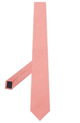 Мужской галстук из шелка и хлопка VAN LAACK красного цвета, арт. LER0Y/K04158 | Фото 2