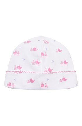Детского хлопковая шапка KISSY KISSY розового цвета, арт. KG505760N | Фото 2
