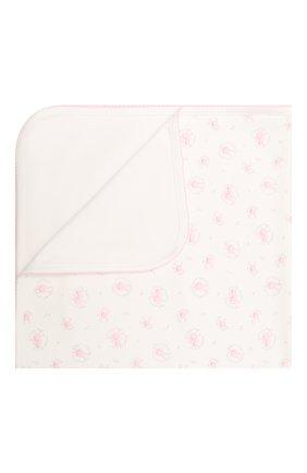 Детского хлопковое одеяло KISSY KISSY розового цвета, арт. KG7056580 | Фото 1
