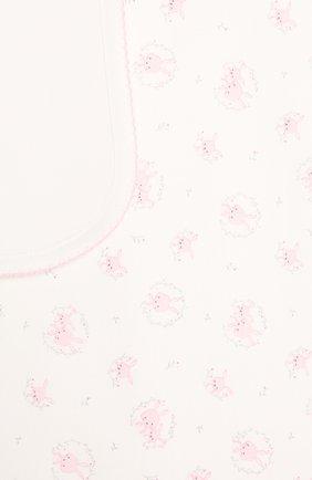 Детского хлопковое одеяло KISSY KISSY розового цвета, арт. KG7056580 | Фото 2