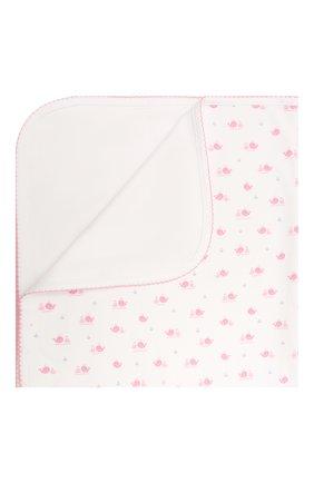 Детского хлопковое одеяло KISSY KISSY розового цвета, арт. KG7057580 | Фото 1