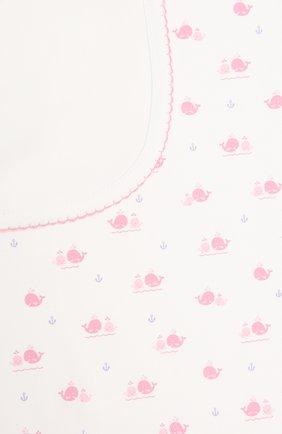 Детского хлопковое одеяло KISSY KISSY розового цвета, арт. KG7057580 | Фото 2