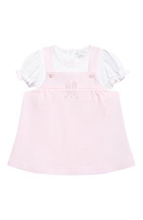 Женский комплект из платья и боди KISSY KISSY розового цвета, арт. KGR05656I | Фото 1