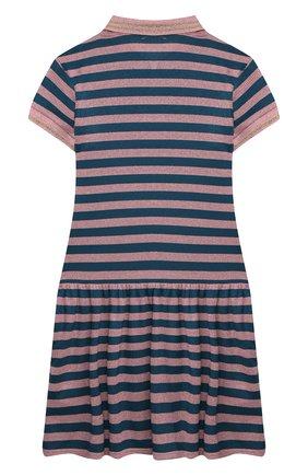 Детское хлопковое платье SONIA RYKIEL ENFANT разноцветного цвета, арт. 21S1DR25 | Фото 2