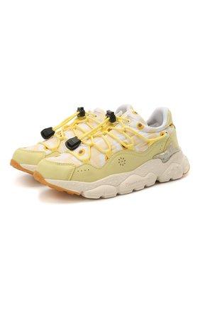 Детские кроссовки NATURINO желтого цвета, арт. 0012015499/05/27-32   Фото 1