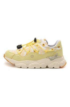 Детские кроссовки NATURINO желтого цвета, арт. 0012015499/05/27-32   Фото 2