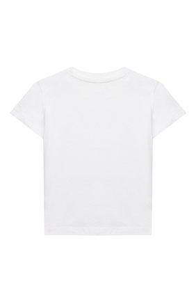 Детский комплект из футболки и шорт POLO RALPH LAUREN красного цвета, арт. 320836013   Фото 3