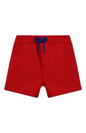 Детский комплект из футболки и шорт POLO RALPH LAUREN красного цвета, арт. 320836013   Фото 4