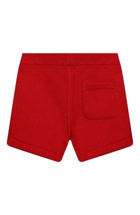 Детский комплект из футболки и шорт POLO RALPH LAUREN красного цвета, арт. 320836013   Фото 5