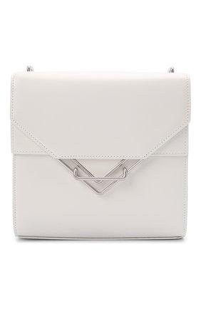 Женская сумка clip BOTTEGA VENETA белого цвета, арт. 652391/V0I42 | Фото 1
