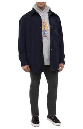 Мужская куртка BOGNER темно-синего цвета, арт. 38836602 | Фото 2