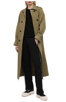 Женские брюки BOGNER черного цвета, арт. 16916786 | Фото 2