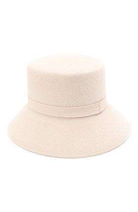 Женская шляпа panama COCOSHNICK HEADDRESS бежевого цвета, арт. bases-96 | Фото 2