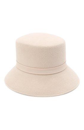 Женская шляпа panama COCOSHNICK HEADDRESS бежевого цвета, арт. basem-96 | Фото 1