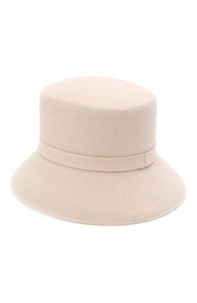 Женская шляпа panama COCOSHNICK HEADDRESS бежевого цвета, арт. basem-96 | Фото 2