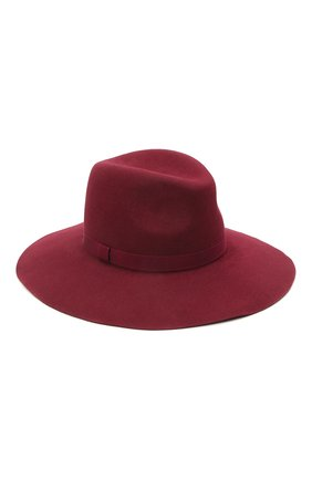 Женская шляпа fedora new COCOSHNICK HEADDRESS бордового цвета, арт. fedoranewm-10 | Фото 1