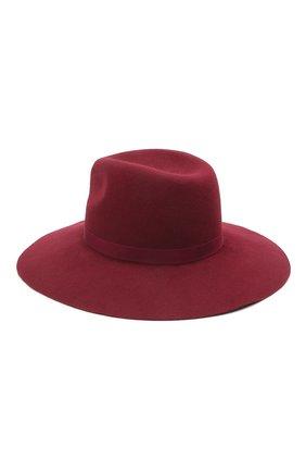 Женская шляпа fedora new COCOSHNICK HEADDRESS бордового цвета, арт. fedoranewm-10 | Фото 2