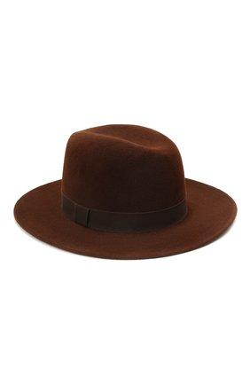 Женская шляпа london COCOSHNICK HEADDRESS коричневого цвета, арт. londonl-82 | Фото 2