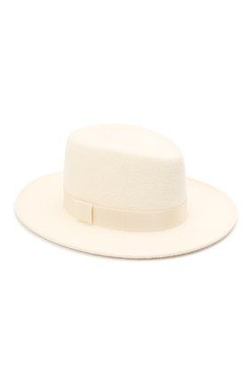 Женская шляпа drop COCOSHNICK HEADDRESS белого цвета, арт. dropm-01 | Фото 1