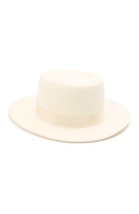 Женская шляпа drop COCOSHNICK HEADDRESS белого цвета, арт. dropm-01 | Фото 2
