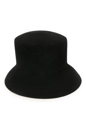 Женская шляпа panama COCOSHNICK HEADDRESS черного цвета, арт. basem-02 | Фото 1