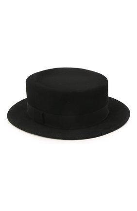 Женская шляпа kanotie mini COCOSHNICK HEADDRESS черного цвета, арт. kanotieminim-02 | Фото 1