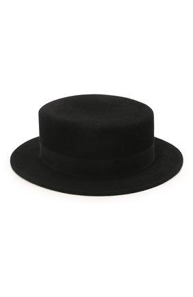 Женская шляпа kanotie mini COCOSHNICK HEADDRESS черного цвета, арт. kanotieminim-02 | Фото 2