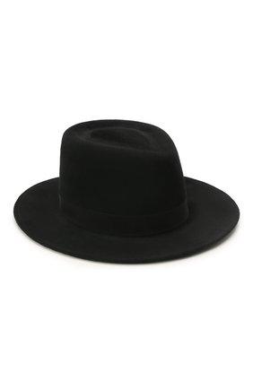 Женская шляпа drop COCOSHNICK HEADDRESS черного цвета, арт. dropl-02 | Фото 1