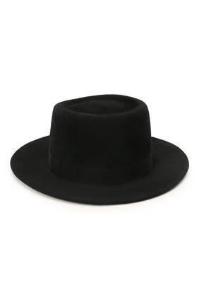 Женская шляпа drop COCOSHNICK HEADDRESS черного цвета, арт. dropl-02 | Фото 2