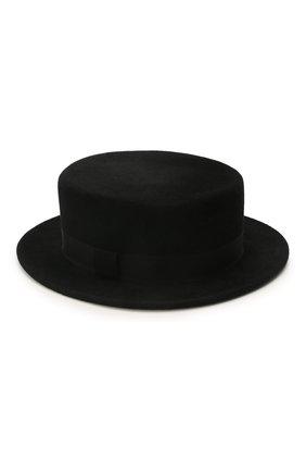 Женская шляпа kanotie mini COCOSHNICK HEADDRESS черного цвета, арт. kanotieminiml-02 | Фото 1