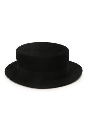 Женская шляпа kanotie mini COCOSHNICK HEADDRESS черного цвета, арт. kanotieminiml-02 | Фото 2