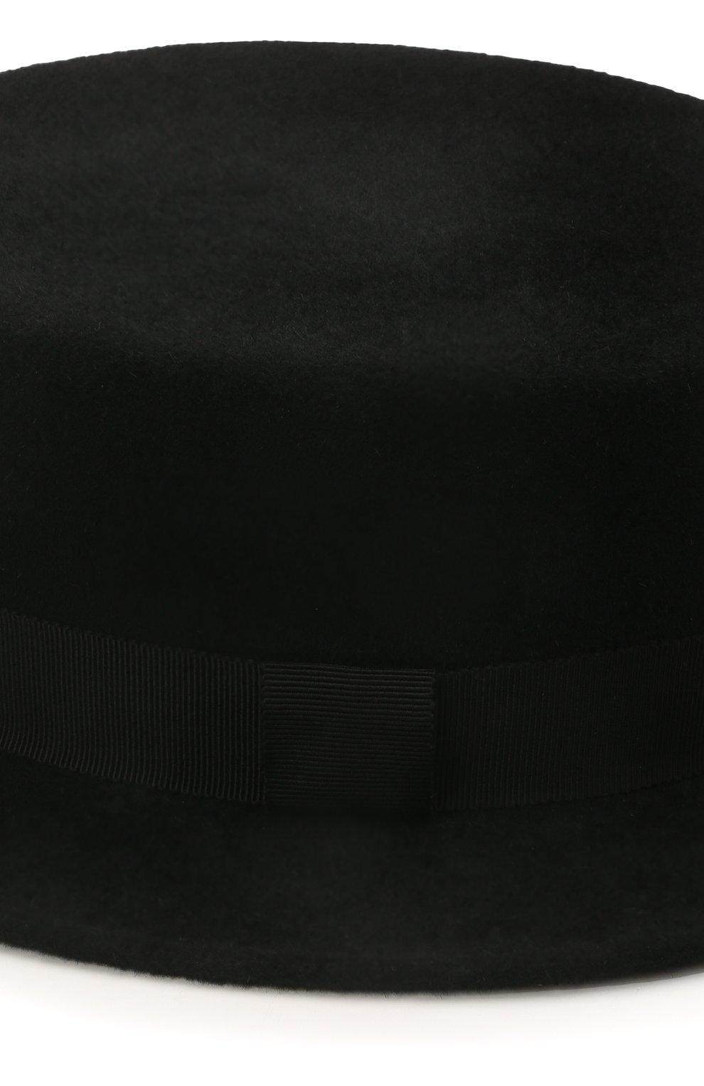 Женская шляпа kanotie mini COCOSHNICK HEADDRESS черного цвета, арт. kanotieminiml-02 | Фото 3