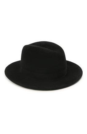 Женская шляпа london COCOSHNICK HEADDRESS черного цвета, арт. londons-02 | Фото 2