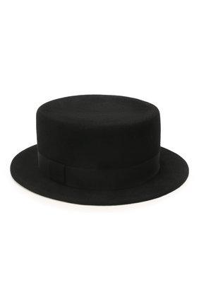 Женская шляпа kanotie mini COCOSHNICK HEADDRESS черного цвета, арт. kanotieminis-02 | Фото 1