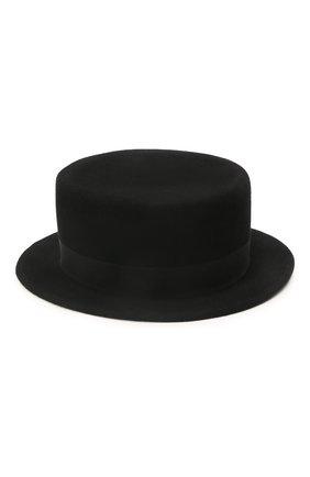 Женская шляпа kanotie mini COCOSHNICK HEADDRESS черного цвета, арт. kanotieminis-02 | Фото 2