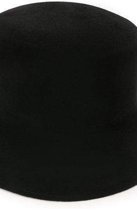 Женская шляпа panama COCOSHNICK HEADDRESS черного цвета, арт. basel-02 | Фото 3