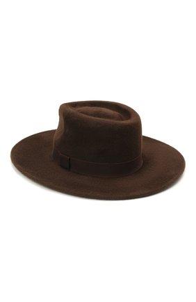 Женская шляпа romb COCOSHNICK HEADDRESS коричневого цвета, арт. rombm-83 | Фото 2