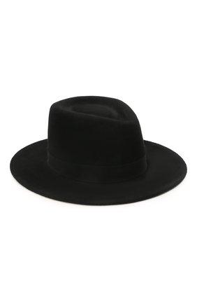 Женская шляпа drop COCOSHNICK HEADDRESS черного цвета, арт. dropm-02 | Фото 1