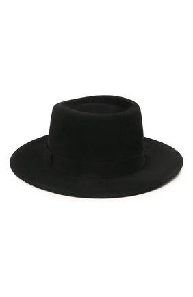 Женская шляпа drop COCOSHNICK HEADDRESS черного цвета, арт. dropm-02 | Фото 2