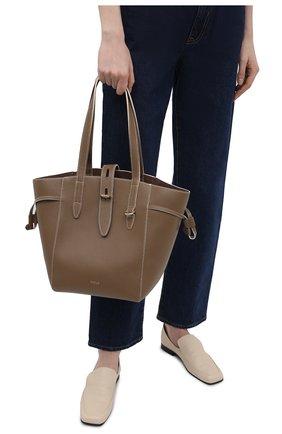 Женский сумка-тоут net medium FURLA коричневого цвета, арт. BZT0FUA/HSF000   Фото 2